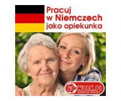 Pani Martha szuka opiekunki z dobrym niemieckim, Niemcy.