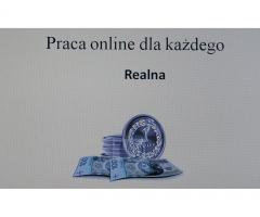 Praca realna online dla każdego !