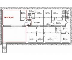 Lokal handlowo-usługowy przyziemie 92 m2 do wynajęcia cena: 2300zł   25zł/m2