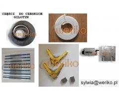 Oprzyrządowanie gilotyny NTC 1250/2,5 - NOŻE - tel. 661840722
