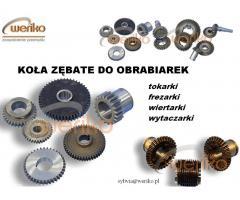 Koła zębate do polskich tokarek: TUC,TUD, TUR,TUJ, TUX - tel.661840722