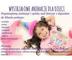 Animacje dla dzieci na różne okazje