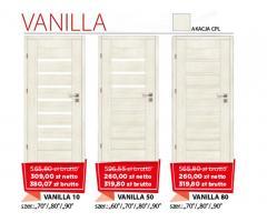 Drzwi wewnętrzne drewniane Vanilla