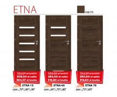Drzwi wewnętrzne drewniane Etna