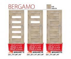 Drzwi wewnętrzne drewniane Bergamo