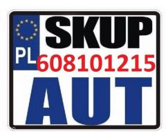 Skup aut Wrocław tel. 608 10 12 15