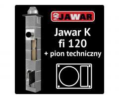 Komin Jawar K Turbo SW fi 120mm 8m GAZ +wentylacja. Dowóz 0zł !