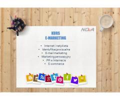 Kurs E-marketingu! Na naukę nigdy nie jest za późno!