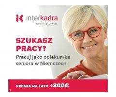 Opieka do Pani Mariny (89l.) + premia letnia do 300€