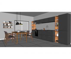 Projektowanie i aranżacja kuchni,łazienki -projekt koncepcyjny. Tanio i szybko!