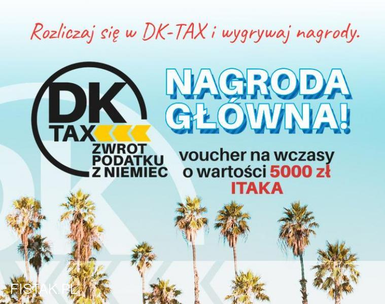 Rozlicz się z podatku i wygraj wczasy!