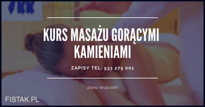 29.01.2019 SKK TORUŃ zaprasza na kurs masażu gorącymi kamieniami