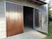 BRAMA garażowa DWUSKRZYDŁOWA bramy garażowe dwuskrzydłowe BRAMA GARAŻOWA BRAMY GARAŻOWE do hal na m2