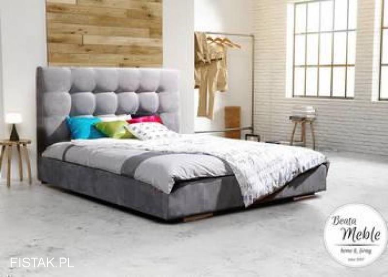 *Do Twojej sypialni GREY 180x200 na ramie slim,materac+stelaż.Wysyłka cały kraj.Prpducent