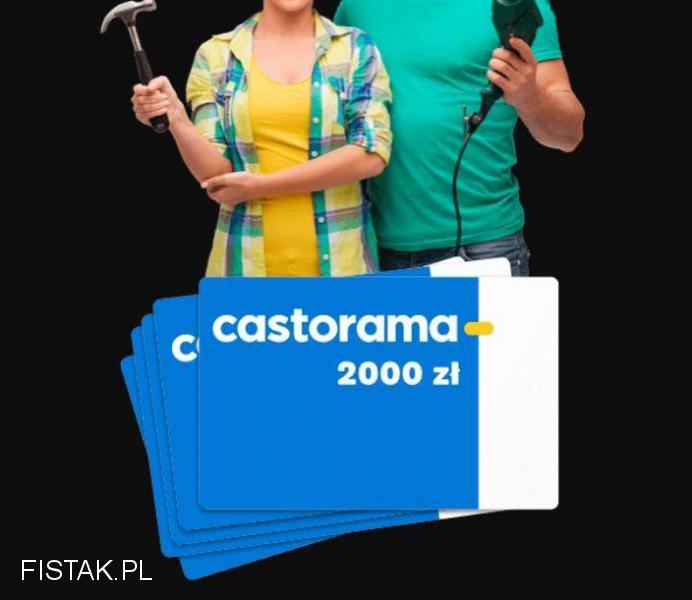 CASTORAMA - wygraj 2000 zł
