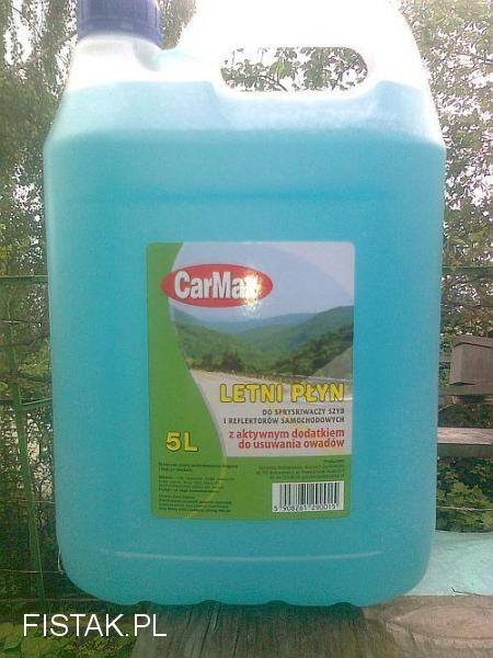 letni płyn do spryskiwaczy 5 L