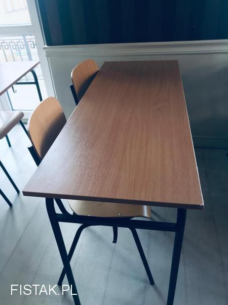 Sprzedam ławki i krzesła szkolne