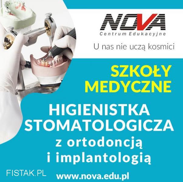 Higienistka Stomatologiczna NOVA CE Kraków