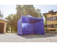 namiot handlowy konstrukcja gruba 3x3