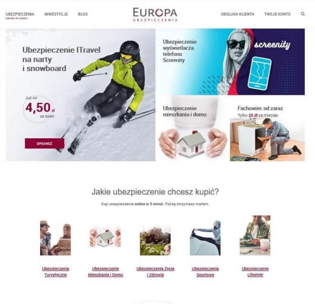 TU EUROPA - ubezpieczenie na wyjazd