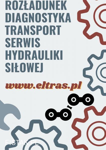 ROZŁADUNEK USŁUGI TRANSPORTOWE TRANSPORT PONADGABARYTOWY ELTRAS BIAŁYSTOK