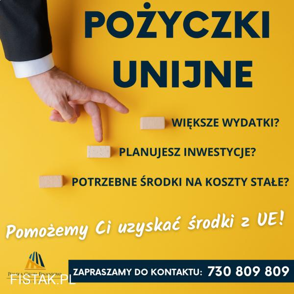 Pozyskamy dla ciebie środki unijne!