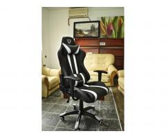 Fotel gamingowy dla graczy Diablo X-One biały
