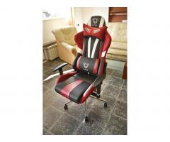 Fotel gamingowy dla graczy Diablo X-Eye czerwony