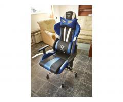Fotel gamingowy dla graczy Diablo X-Eye niebieski