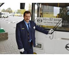 Kierowca autobusu z Ukrainy szuka pracę