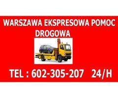 Tania Pomoc Drogowa Warszawa 24H